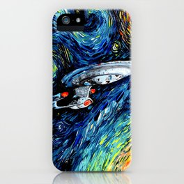 van Gogh Never Boldly Went iPhone Case