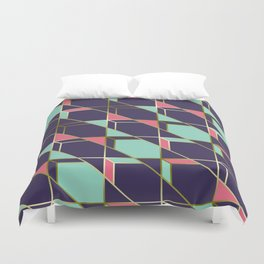Ultra Deco 2 #society6 #ultraviolet #artdeco Duvet Cover