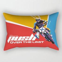 Motocross - Push Over The Limit #2 Rectangular Pillow