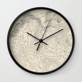 Yosemite National Park Wall Clock