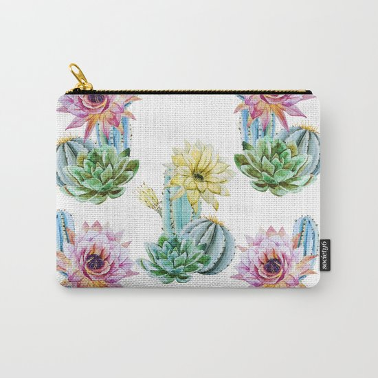 Cactus Pattern 06 Carry-All Pouch