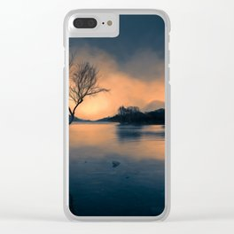 Lone Tree Snowdonia Clear iPhone Case