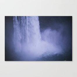 Twin Peaks Waterfall Canvas Print