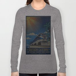 Vintage poster - Southern California Long Sleeve T-shirt