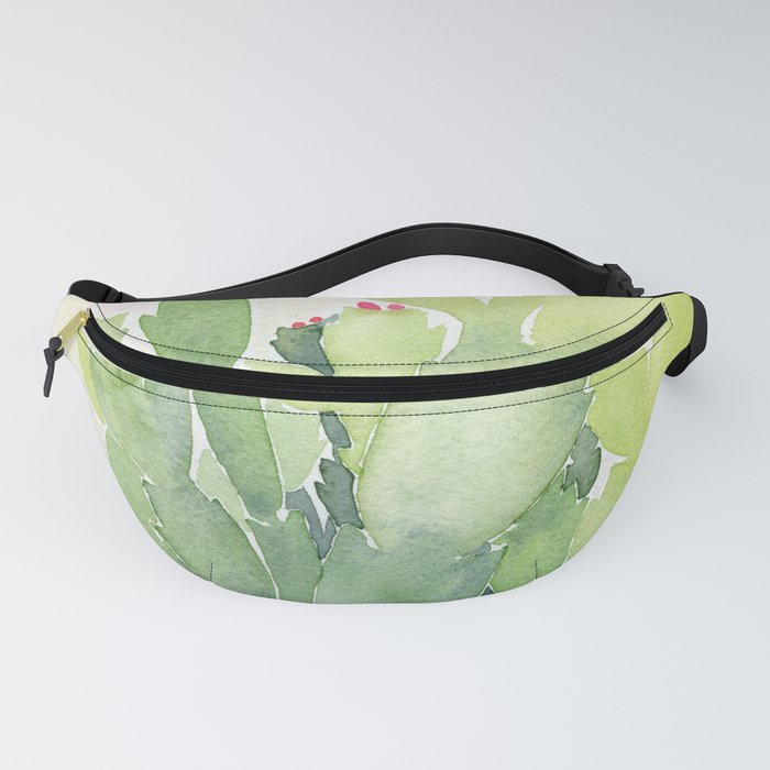 Christmas Cactus Fanny Pack