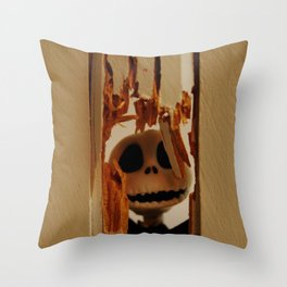 Here's Johnny Throw Pillow