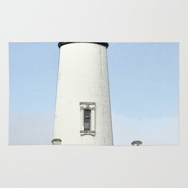Yaquina Head Lighhouse Rug