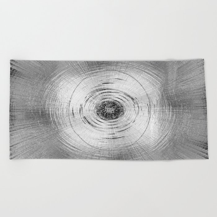Metallic Swirl Beach Towel