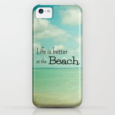 Life is Better at the Beach iPhone 5c Slim Case