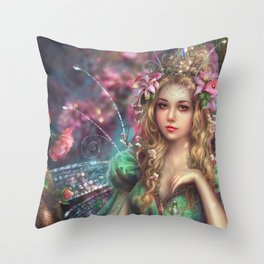 Titania Throw Pillow