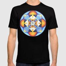 Solar Kaleidoscope (ANALOG zine) Black Mens Fitted Tee MEDIUM