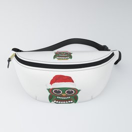 Christmas Owl Fanny Pack