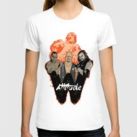 wrestling T-shirts featuring Attitude Wrestling  by RJ Artworks