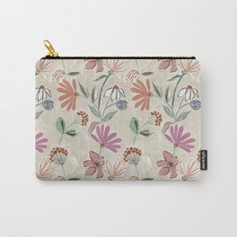Monday Floral Carry-All Pouch