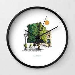 Sevilla 2 Wall Clock