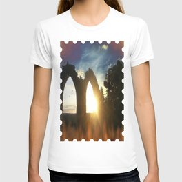 Fire at the tower T-shirt