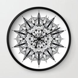 Mandala collection 3 Wall Clock
