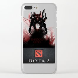 Shadowfiend Dota2 Clear iPhone Case