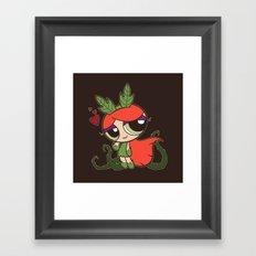 Poison Puff Framed Art Print