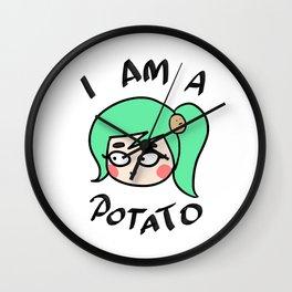 Potato Couple (Female) Wall Clock