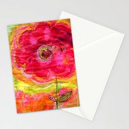 Soul Flower Stationery Cards