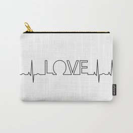 Love EKG Carry-All Pouch