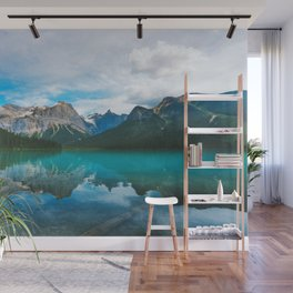 The Mountains and Blue Water - Nature Photography Wall Mural