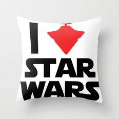 I Heart Star Wars Throw Pillow
