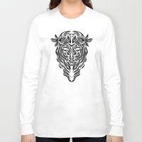 virgo Long Sleeve T-shirts featuring Virgo by Mario Sayavedra