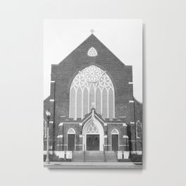 St. Paul's Episcopal Church - Lansing, MI   Metal Print