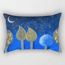 Night Grove Rectangular Pillow