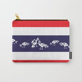 Thailand Flag, Roosters Sparring Carry-All Pouch