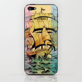 Adventure Begins iPhone Skin
