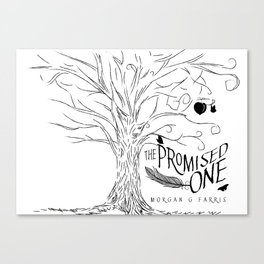 The Promised One (The Chalam Færytales, Book I) Canvas Print