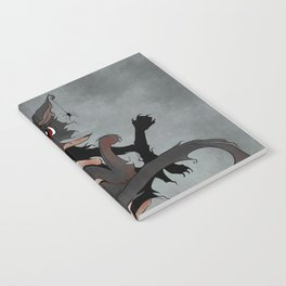 Naughty Vampire Cat Notebook