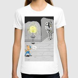"""Quixote Coyote """"Haunted"""" T-shirt"""