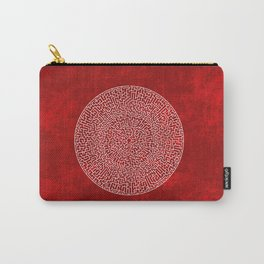 THE RED LABYRINTH Carry-All Pouch