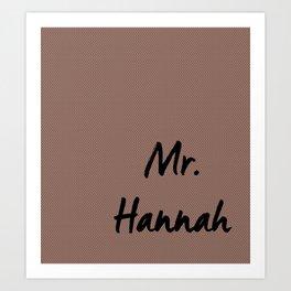 Mr. Wedding Print Art Print