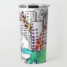 Urban Jungle Travel Mug
