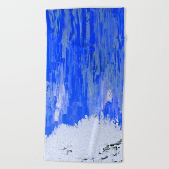 Snow Dreams Beach Towel