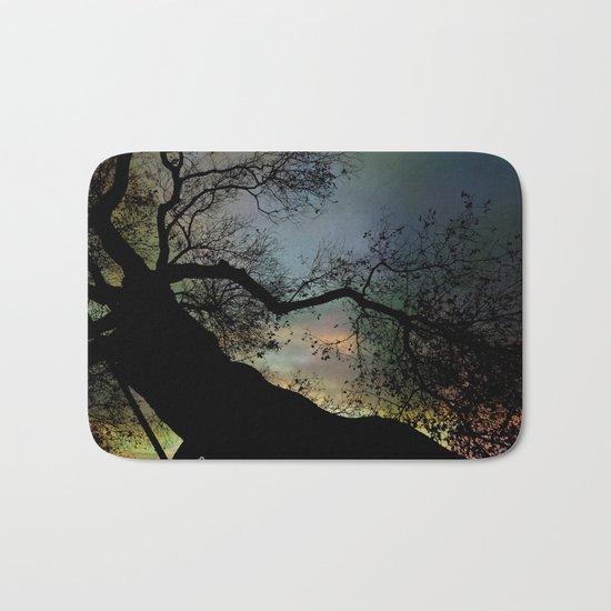 Night Fall by The Tree Bath Mat