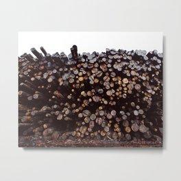 Morning Wood Metal Print