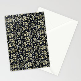 Sunflowers Floral Print Pattern Stationery Cards