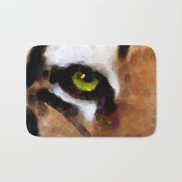 Tiger Art - Hungry Eyes Bath Mat