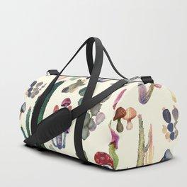 Cactus and Mushrooms Duffle Bag
