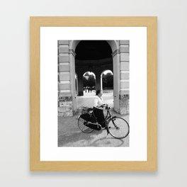 Oma Hofgarten Framed Art Print