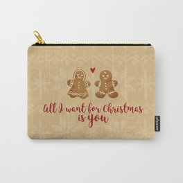 Gingerbread Love Carry-All Pouch