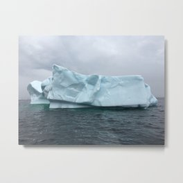 Iceberg Alley Metal Print