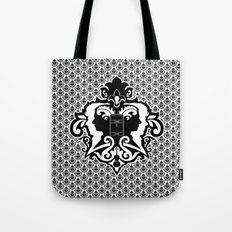 Detective's Damask Tote Bag