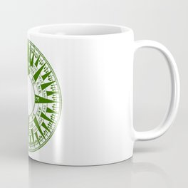 Compass Face Coffee Mug